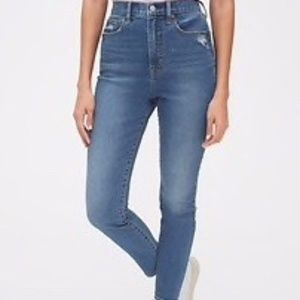 GAP Sky High True Skinny Ankle Jeans Sizes…